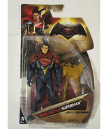 "Batman vs Superman Dawn of Justice 6"" Epic Battle Superman Action Figure  - $11.59"