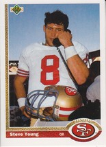 Steve Young 1991 Upper Deck Card #101 - $0.99