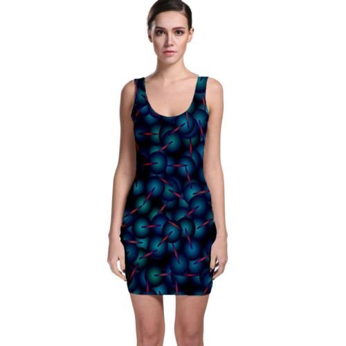 Sexy Dimensions Tight Fitted Bodycon Dresses - Size & Sleeve Options