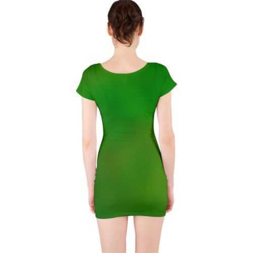 Cute Green Mirage Tight Fitted Bodycon Dresses - Size & Sleeve Options