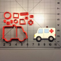 Ambulance 100 Cookie Cutter Set - $6.00+