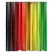 Rastafara #01 Shower Curtain Waterproof Made From Polyester - $31.26+