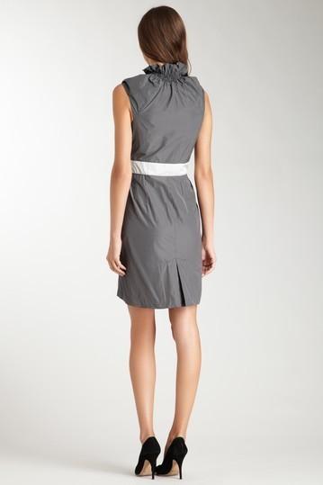"""Eva Franco """"Saratoga"""" Square Dance Ruffle Dress  Size 2 NWT $245"""