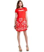 "Eva Franco ""Stella"" Sophia Embroidered Shift Dress Size 2 NWT $265 - $98.89"