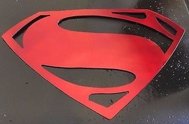 "Man of Steel  Super Man  Metal Wall Art  20"" wide - $29.69"