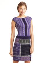 MAGGY LONDON Geo Print Ethnic Dress Sz 2  NWT - $69.00