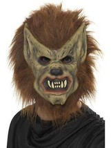 Werewolf Mask, Halloween Fancy Dress/Cosplay Accessories #CA - $30.34