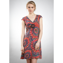 ECI V-Neck Beading Crochet Center Dress Sz 2 NWT - $78.84