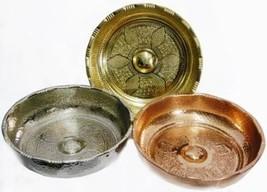 Traditional Hand Hammered Turkish Bath Hammam Spa Bowl Hamam Tasi - $21.99+