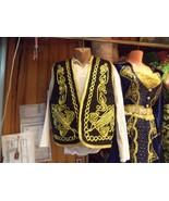 Authentic Ottoman Turkish Embroidered Vest,Waist,Waistcoat - $39.99