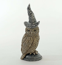 "katherine's collection Wizard owl Halloween 8.5"" 23-923584 resin - $32.99"