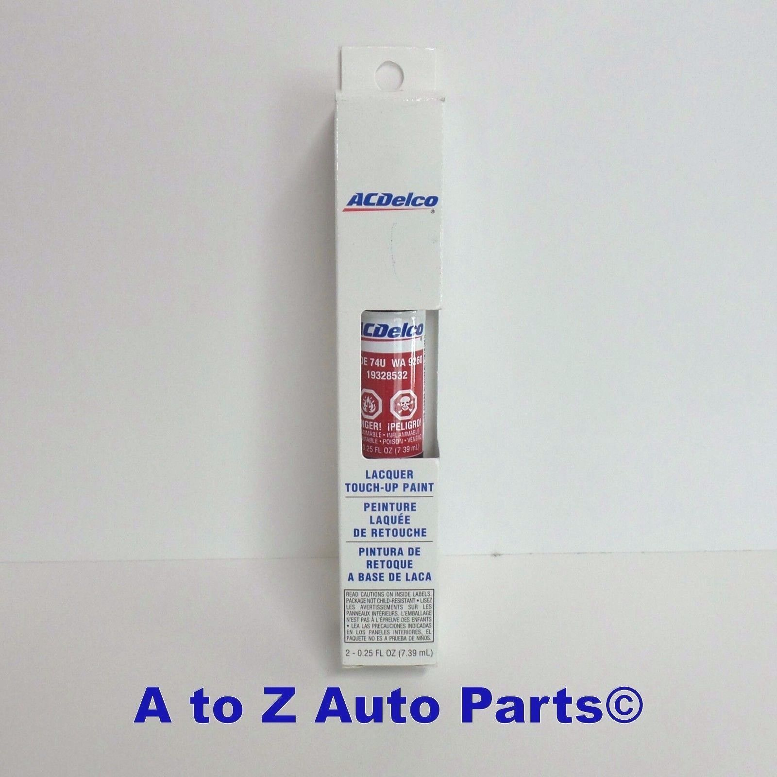 Delightful NEW Chevrolet,GMC,Cadillac,etc Victory RED Touch Up Paint,OEM GM   $18.95