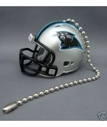 CAROLINA PANTHERS CEILING FAN LIGHT PULL & CHAIN NFL FOOTBALL HELMET - $7.60