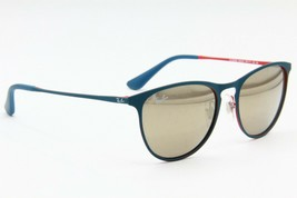 NEW RAY-BAN JUNIOR RJ 9538S 253/5A BLUE AUTHENTIC FRAME KIDS SUNGLASSES ... - $63.58