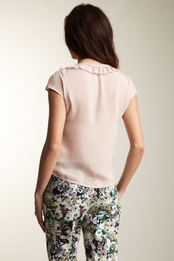 Fate Tiered Ruffle Front Top Size Small,  NWT