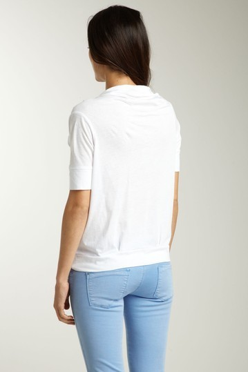 SHAE Knotted Neck Tee Size XS,  NWT