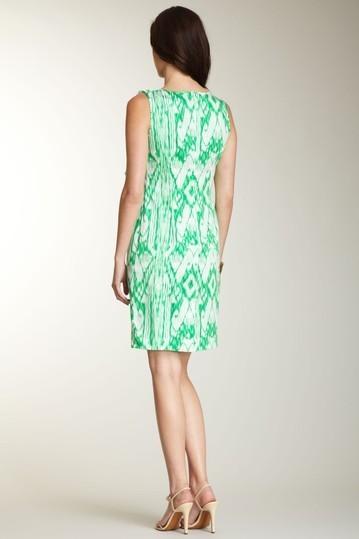 Ellen Tracy Cascade Ruffle Sheath Dress Sz 2 NWT