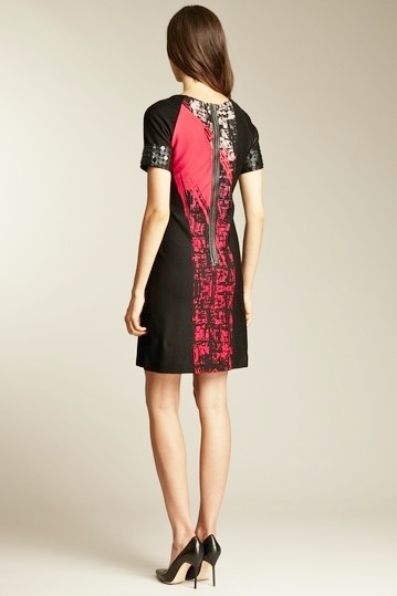 Taylor Abstract Print Dress Size 2 NWT $174