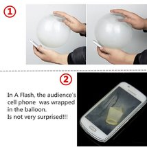 Close-Up Magic Street Trick Balloon Penetration In-a-Flash Classic Trick - On... image 4