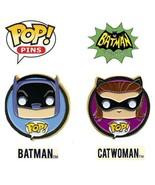 Funko POP! Pins BATMAN + CATWOMAN Collectible 1966 Batman Classic TV Ser... - $74,38 MXN