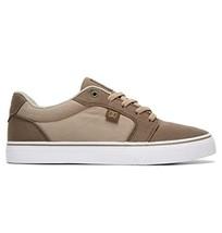 DC Men's Anvil Tx Skate Shoe, Brown Combo, 6.5 Medium US - $54.05