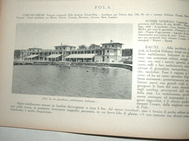 Antique Book 1933 Italy Hotels Guide Part I Adriatic Beach Resorts Photo Maps image 4