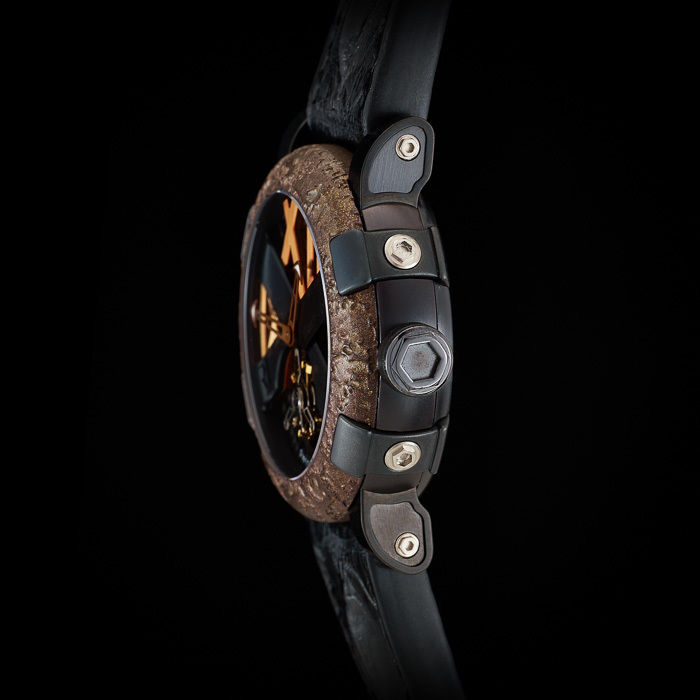 "Romain Jerome Titanic-DNA ""Ultimate"" Tourbillon. 120 Hour reserve. Limited Ed. 9"
