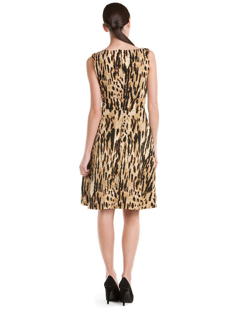 Calvin Klein Camel Printed Dress NWT- Size 2 $138