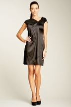 Taylor Cap Sleeve Gathered Dress Size 2 NWT $152 - $49.00