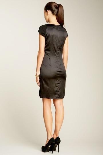 Taylor Cap Sleeve Gathered Dress Size 2 NWT $152