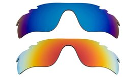 New Replacement Lens Oakley VENTED RADAR LOCK - Blue Yellow - $32.48