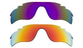 New Replacement Lens Oakley Vented Radar Lock   Purple Yellow - $32.48