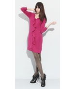 Splendid Jersey Ruffle Front Dress Small NWOT $139 - $49.00