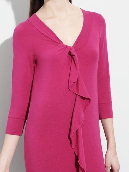 Splendid Jersey Ruffle Front Dress Small NWOT $139