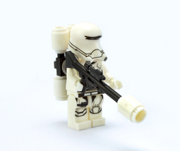Star Wars First Order Flame Trooper Minifigure Lego Compatible - $5.95