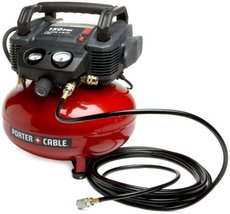 Tool Air Compressor PORTERCABLE C2002 OilFree UMC Pancake EA PORTER-CABLE - $137.36