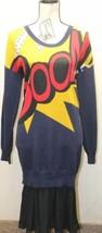 3.1 Phillip Lim for Target BOOM Blue Long Sleeve Mid Calf Sweater Dress ... - $1.089,92 MXN
