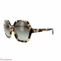 Prada Women's Sunglasses PR06SS 7S04K1 Havana/Green Gradient Grey Lens Irregular - $177.51