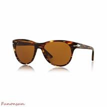 Persol Women's Sunglasses PO3134 938/33 Striped Green/Brown Lens Pilot A... - $134.83