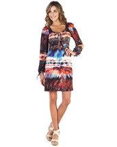 A.B.S. Multi Aztec Print Dress Small NWT $178 - $105.76