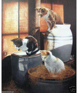The Three Mousekaters - $150.00