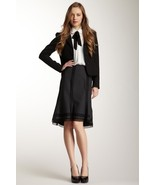 Polli Says Lace Stretch Wool Tulip Skirt Size 2  NWT $225 - $135.17