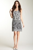 Donna Morgan Printed Drop Waist Dress NWT Sz 2 $141 - $71.68