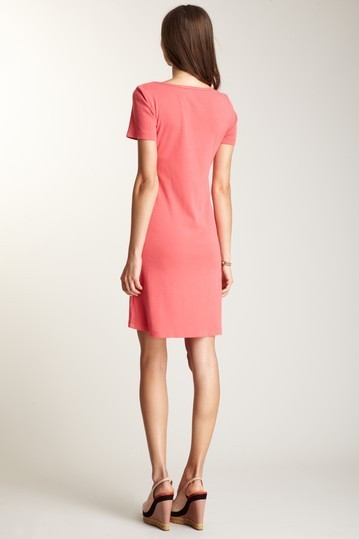 Barbara Lesser Ruffle Front Dress Small  NWOT $172