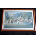 L. Gordon Sunny Afternoon Signed  Numbered 311/1250 Framed Matted Litho Print - $55.90