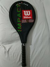 Wilson Impact Oversize Tennis Racket, Multi-Color Lightweight Alloy 4 3/... - $44.54