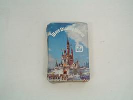 vintage Walt Disney world playing cards castle front swap cards deck - $9.49