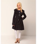 Nick & Mo Pleated Trench Coat  Small  NWT - $71.36