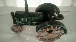 Vintage Toy Cast Iron Tractor - $25.79