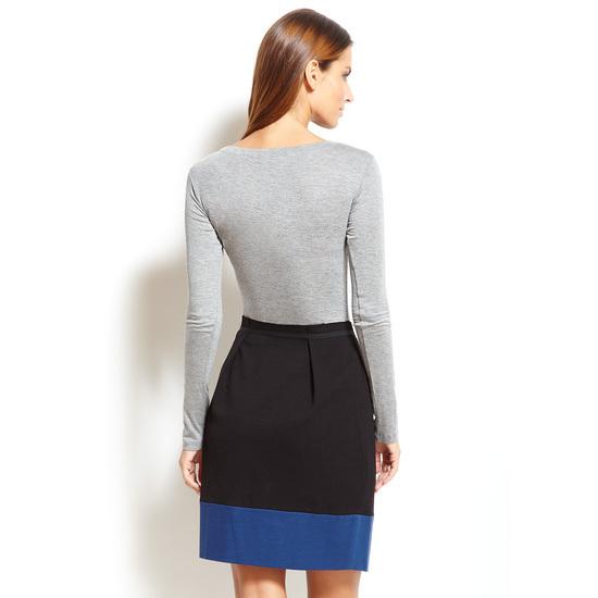BCBGMAXAZRIA Long Sleeve Twofer Dress Sz Medium  NWT $198
